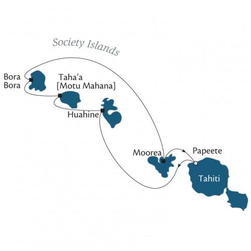 Paul Gauguin Cruise ソシエテ諸島 7 泊 8 日