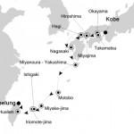 シルバー・ディスカバラー:神戸 〜 台北クルーズ12日間