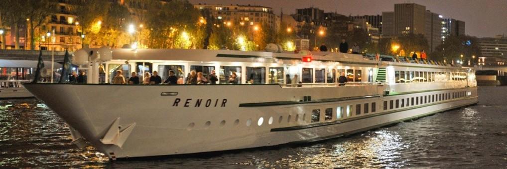 ルノワール号|7月19日パリ出発セーヌ川クルーズ5日間