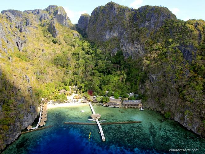 フィリピン最後の秘境の水上コテージ【エルニド】ミニロック アイランドリゾートのハネムーン・新婚旅行・無料アクティビティ・予算・費用・お見積もりは名古屋のエルニド専門店グラージュへ