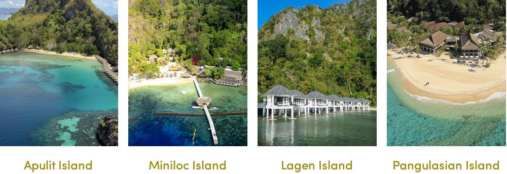 フィリピン最後の秘境の水上コテージ【エルニド】4つのリゾートの違いと無料アクティビティ・予算・費用・お見積もりは名古屋のエルニド専門店グラージュへ