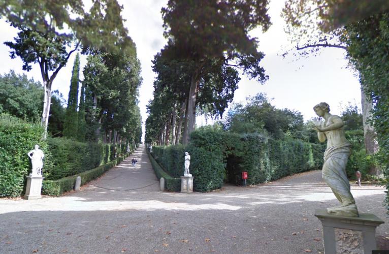 ボーボリ庭園 Giardino di Boboli