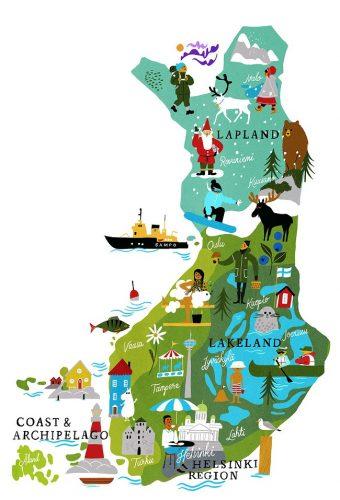 フィンランド旅行のオリジナル海外オーダーメイドツアーは新婚旅行・ハネムーン計画の費用・予算をグラージュはお値打ちお見積もりします