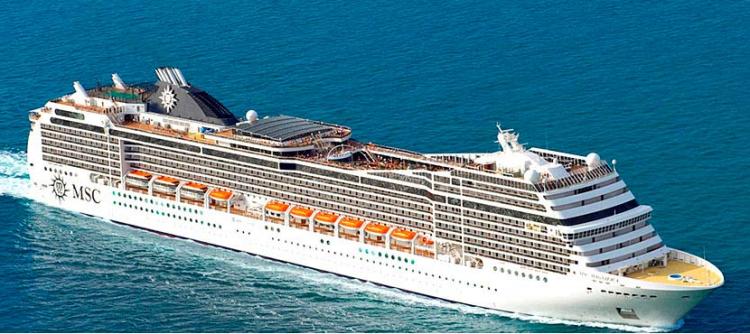 MSCマニフィカ MSCクルーズの世界一周ワールドクルーズ第2弾 2020年1月4日出航117日間 $14,399~販売中!