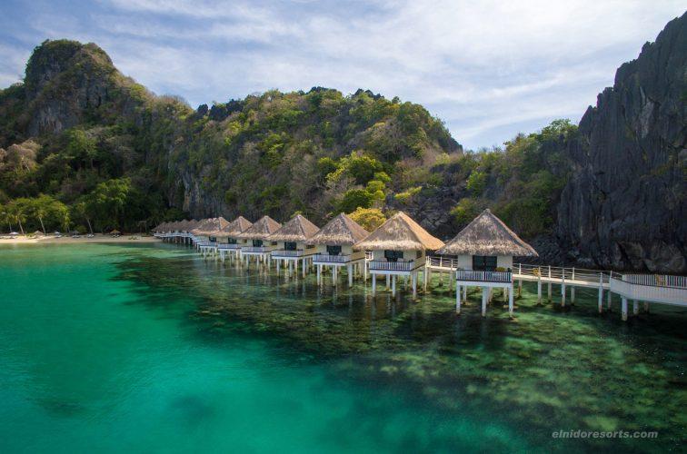 アプリットアイランドリゾート|Apulit Island Resort |水上コテージ