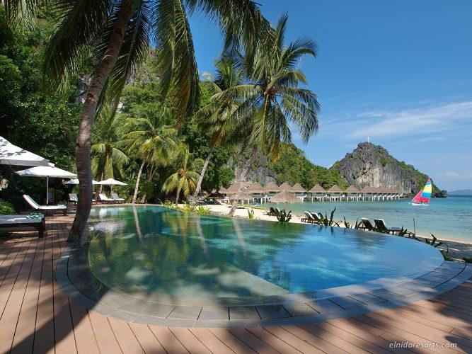 アプリットアイランドリゾート|Apulit Island Resort |プールサイド