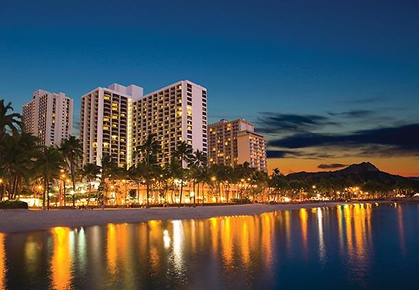 ワイキキビーチ・マリオット・リゾート&スパ Waikiki Beach Marriott Resort & Spa