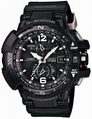 [カシオ]CASIO 腕時計 G-SHOCK グラビティマスター GPSハイブリッド電波ソーラー GPW-1000-1AJF メンズ 世界時計 サマータイム ウインタータイム