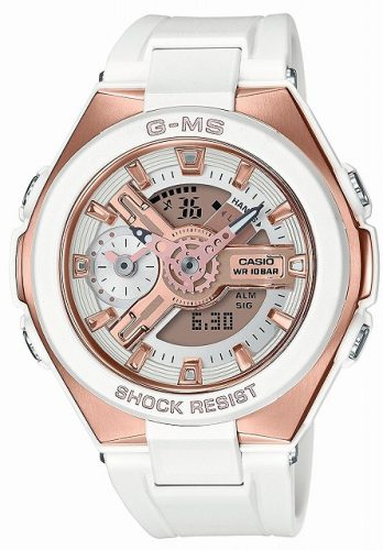 [カシオ]CASIO 腕時計 BABY-G ベビージー ジーミズ MSG-400G-7AJF レディース 世界時計 サマータイム ウインタータイム