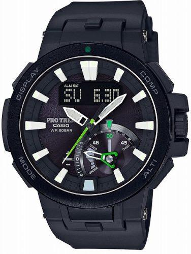 [カシオ]CASIO 腕時計 PROTREK 世界6局対応電波ソーラー PRW-7000-1AJF メンズ 世界時計 サマータイム ウインタータイム         .