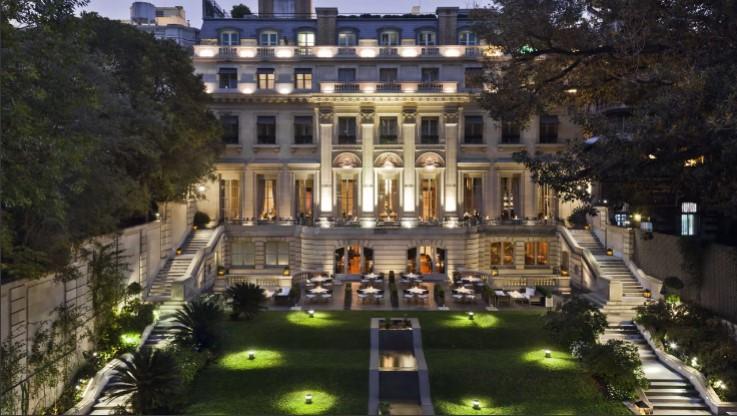 パラシオ ドゥオ パークハイアット ブエノスアイレス (Palacio Duhau - Park Hyatt Buenos Aires)OUTLOOK