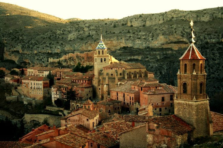 Vista_de_Albarracín アルバラシン