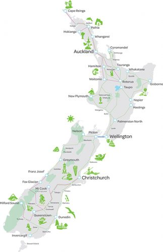 グラマラスヴォヤージュお勧め、ニュージーランドはバス旅行が便利でお得!インターシティ社のフレキシーパスで廻るニュージーランドバス旅行、ニュージーランド旅行、ニュージーランドバス旅行の行き方,予算,費用は無料見積もりに自信の名古屋のオーダーメイド専門旅行会社グラージュへ
