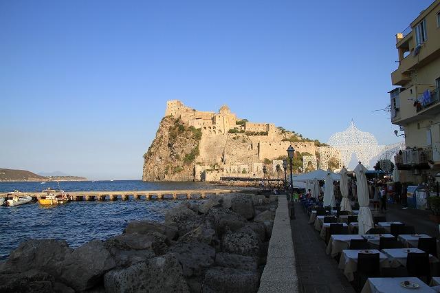 アラゴネーゼ城, Castello Aragonese ,イスキア島,ナポリ