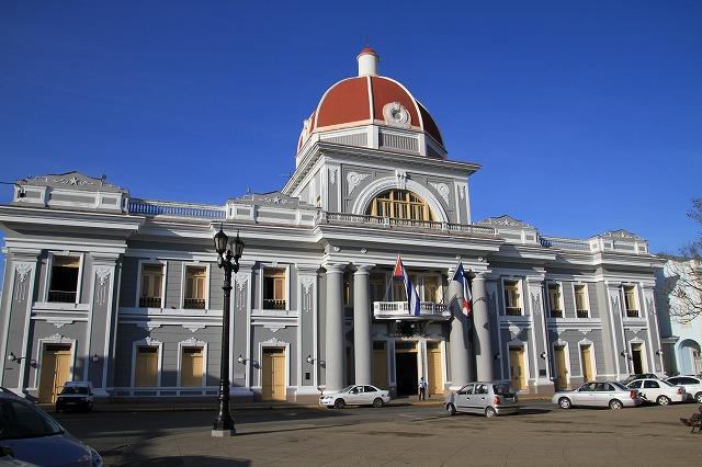 キューバの世界遺産トリニーダにある議事堂