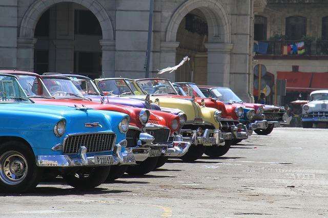 キューバおすすめクラシックカーの観光コース