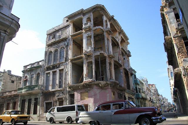 時が止まったハバナ旧市街