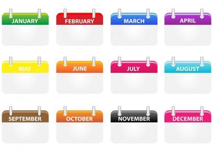 ハネムーンカレンダーは出発半年前、6か月前からの新婚旅行計画がおすすめ