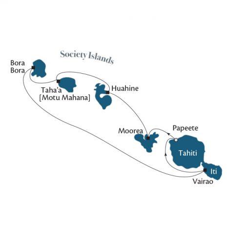 ポール・ゴーギャン ソシエテ諸島とタヒチ・イティ7 泊 8 日