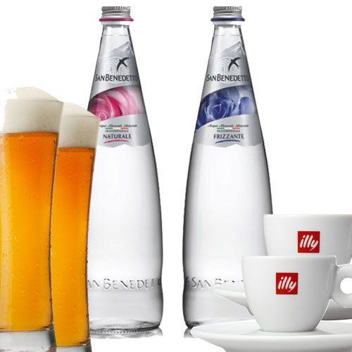 Code:D4920 生ビール、コーヒー、ミネラルウォーターがセットになったコスタクルーズ人気の飲み物パッケージです