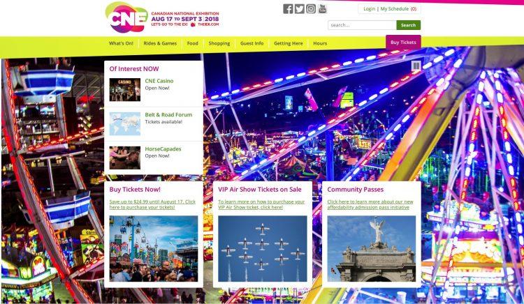 夏の名物巨大フェスティバルCanadian National Exhibition「カナディアン・ナショナル・エキシビション」への旅行のお申し込みは無料見積もりのグラージュ名古屋へ