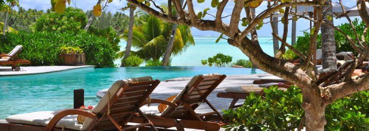 落着いた雰囲気のル タハア アイランド リゾート&スパフールサイド