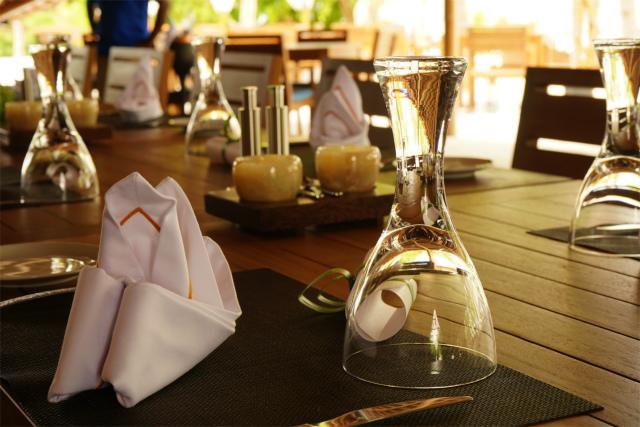 モーベンピック リゾート クレディヴァル モルディブはレストランが上品でおいしく美しい料理を提供してくれます