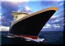 クルーズ船の華やかな出航セレモニー