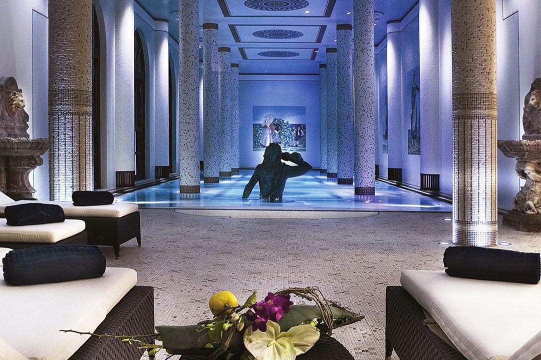 テルメ・マンチィ・ホテル&スパ、Terme Manzi Hotel & Spa、ルレエシャトー加盟、イスキア島、温泉