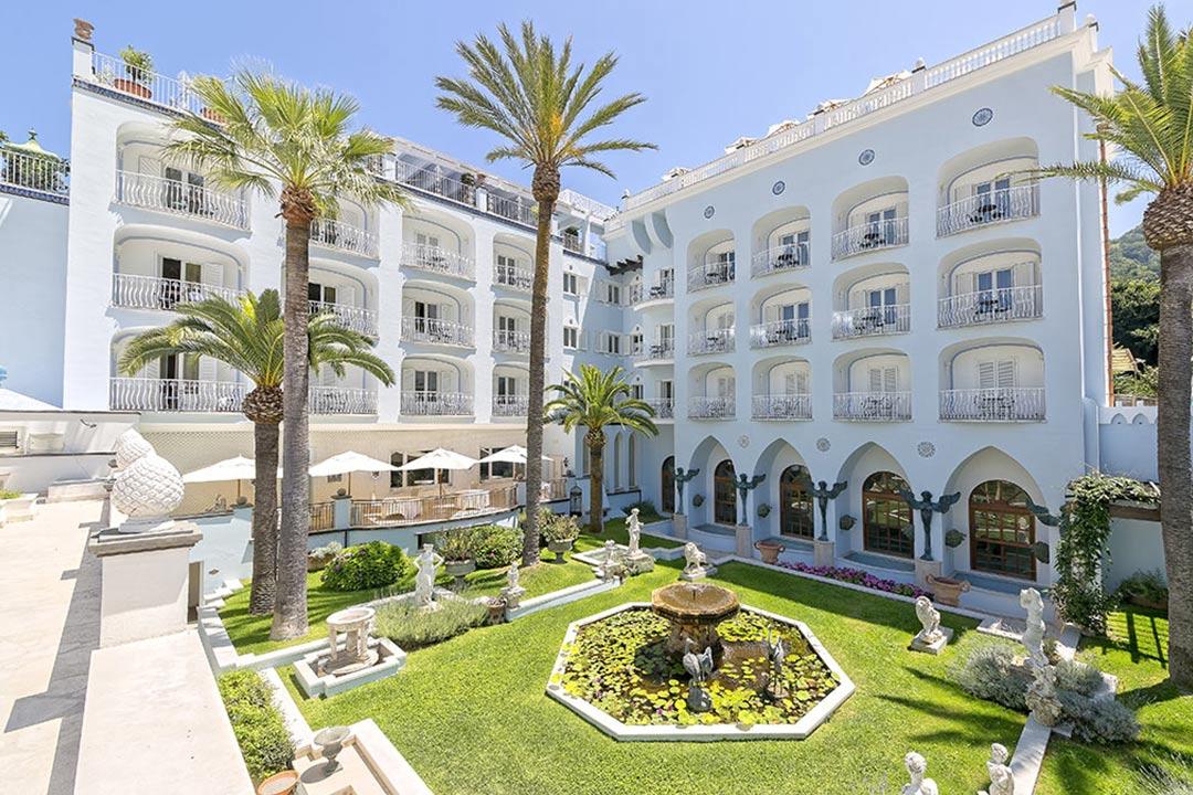 Terme Manzi Hotel & Spa、ルレエシャトー加盟、イスキア島、温泉